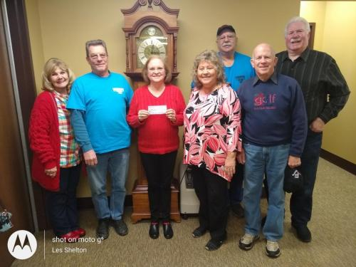 I2019 Donation to HillTop Home